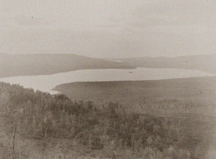 Upper Chateaugay Lake, from Birch Hill